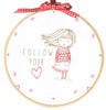 Follow Your Heart Embroidery Kit By DMC