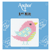 Bird Beginner 1st Cross Stitch Kit By Anchor