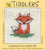 Little Fox Cross Stitch Kit by Mouse Loft