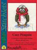 Cosy Penguin Cross Stitch Kit by Mouse Loft