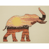 Elephant Silhouette Cross stitch Kit By Maia