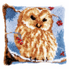 Latch Hook Kit: Cushion: Owl by Vervaco