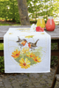 Counted Cross Stitch Kit: Runner: Robins & Flowers By Vervaco