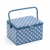 Blue Spot Large Sewing Box Hobby Gift