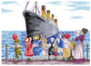 Titanic Cross Stitch Kit by All our Yesterdays