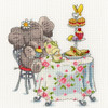 Elly One For Tea Cross Stitch Kit by Bothy Threads