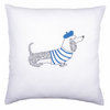 Embroidery Kit: Cushion: Dog Paris By Vervaco