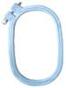 """Rectangular plastic hoop 3 """" x 4.5 """" By Siesta"""