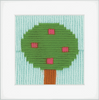 Tree Long Stitch Kit By Vervaco