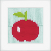 Apple Long Stitch Kit By Vervaco