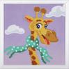 Giraffe Diamond Painting Kit with Frame By Vervaco