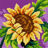 Printed Sunflower Needlepoint Kit by Orchidea