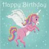 Unicorn Diamond Painting Greeting Card Kit By Vervaco