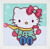 Hello Kitty: In the Snow Diamond Painting Kit by Vervaco