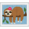 Sweet Sloth Long Stitch Kit by Vervaco