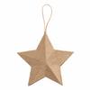 1 Hanging Papier Maché Decoration: Star