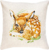 Fawn Cushion Counted Cross Stitch Kit By Luca S