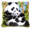 Panda and babe Latch Hook kit