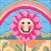 Friendly Flower Beginners Long Stitch Kit