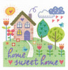 Home Sweet Home  Cross Stitch Kit By Dmc