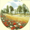 Summer Meadow Cross Stitch Kit
