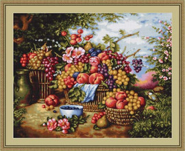 Still Life In Nature Petit Cross Stitch Kit By Luca S