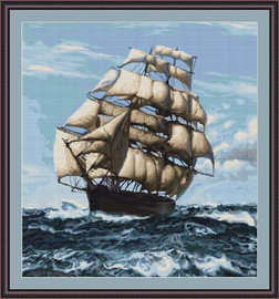 Tall Ship Ii Petit Cross Stitch Kit By Luca S