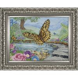 3D Butterfly Cross Stitch Kit By Maia