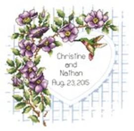Garden Trellis Cross Stitch By Janlynn