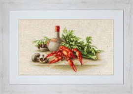 Still Life with Crayfish Cross Stitch kit by Luca-S