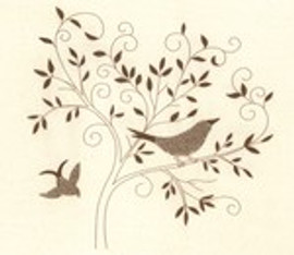 Bird Silhouette Embroidery Kit by Janlynn