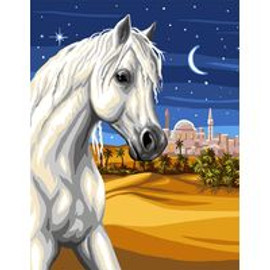 Prince of the desert Tapestry Canvas By Royal Paris