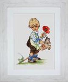 Hobbyhorse Cross Stitch Kit by Luca-S