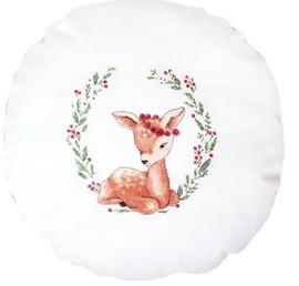 Little Deer Pillow Cross Stitch Kit by Luca-S