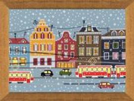 Tram Route Cross Stitch Kit by Riolis
