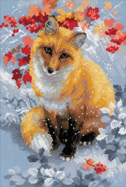 Fox Cross Stitch Kit by Riolis