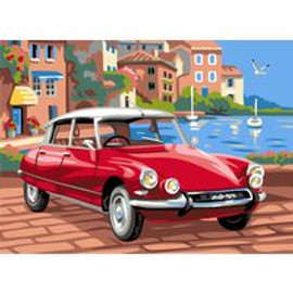 The CV Car Tapestry Canvas By Royal Paris