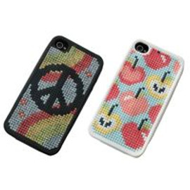 Cross Stitch Phone Cases Love theme For I phone 4 By Anchor