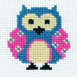 Zoe the Owl Cross Stitch Kit By Anchor