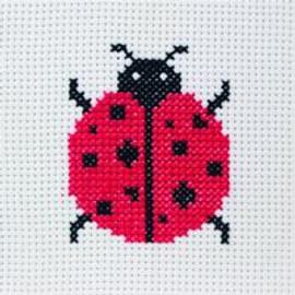 Lady Bird Starter Cross Stitch Kit by Anchor