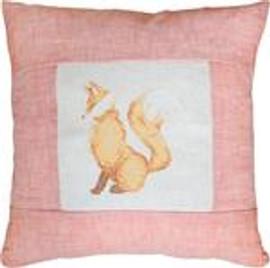 Proud Fox Pillow Cross Stitch Kit by Luca-S