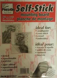 Self Adhesive Mounting Board 22.9 x 30.5cm