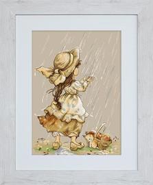 Summer Rain Cross Stitch Kit by Luca-S