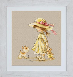 Come with Me Cross Stitch Kit by Luca-S