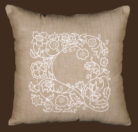 Romance Vines Pillow Needlepoint Kit