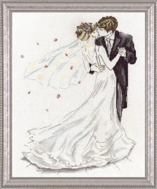 Wedding Dance Cross Stitch Kit by Design Works