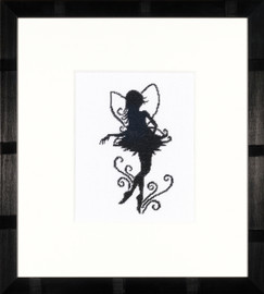 Cute Little Fairy Silhouette Cross Stitch Kit by Lanarte