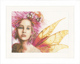 Fairy Cross Stitch Kit by Lanarte