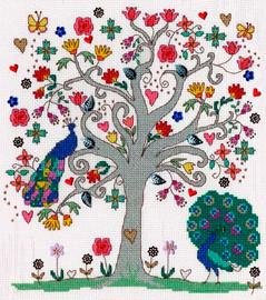 Love Summer Cross Stitch Kit By Bothy Threads
