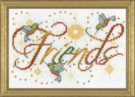 Friends Cross Stitch Kit By Design Works